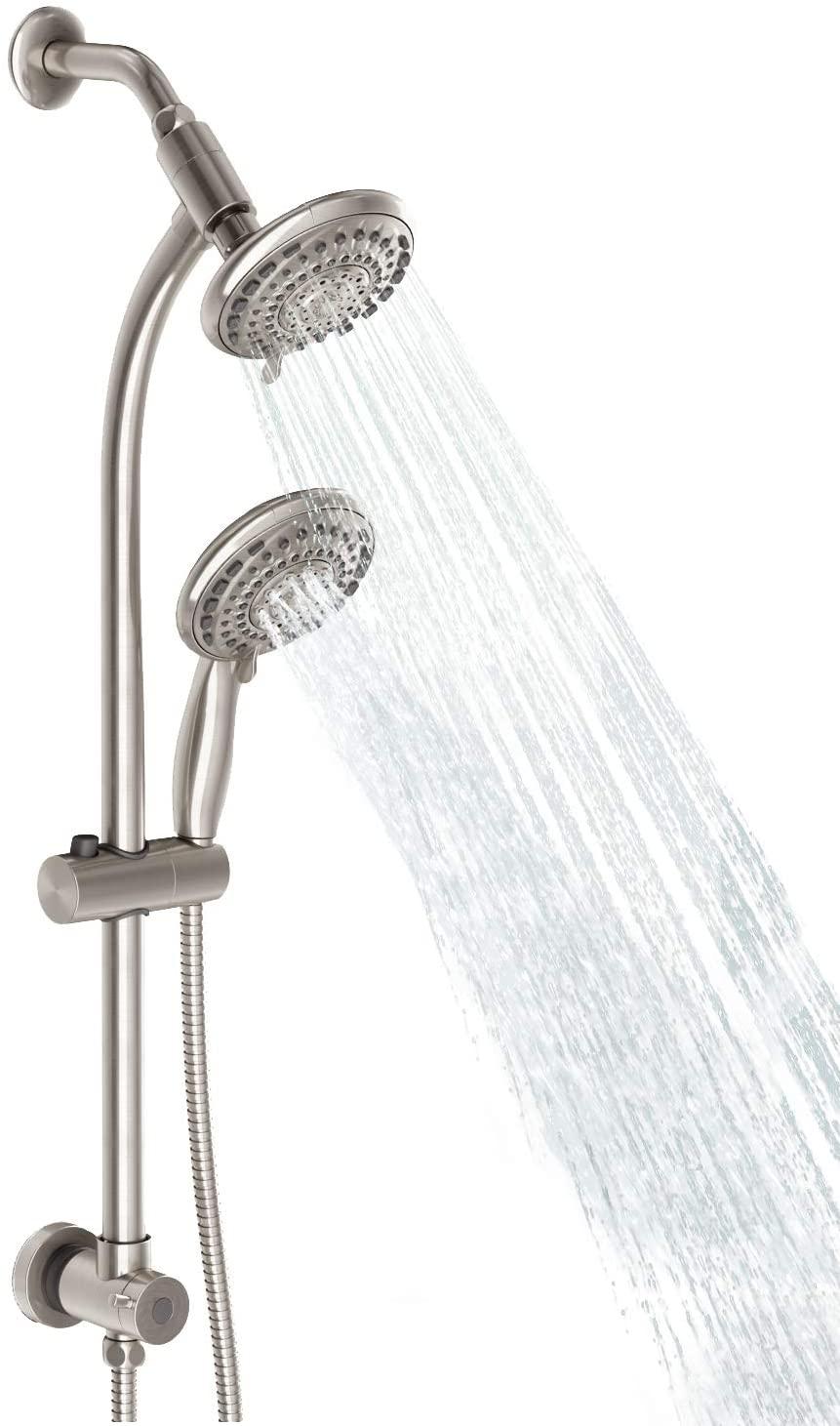 Egretshower Handheld Showerhead & Rain Shower Combo Spa, 27.5
