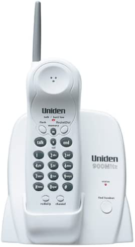 Uniden Model EXP 370 900 MHz Cordless Phone with RocketDial