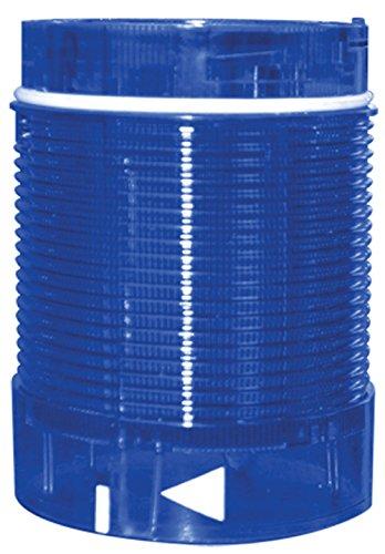 Tower Stack Light, 50mm, Lens Module, 24V AC/DC, Rotating LED, Blue