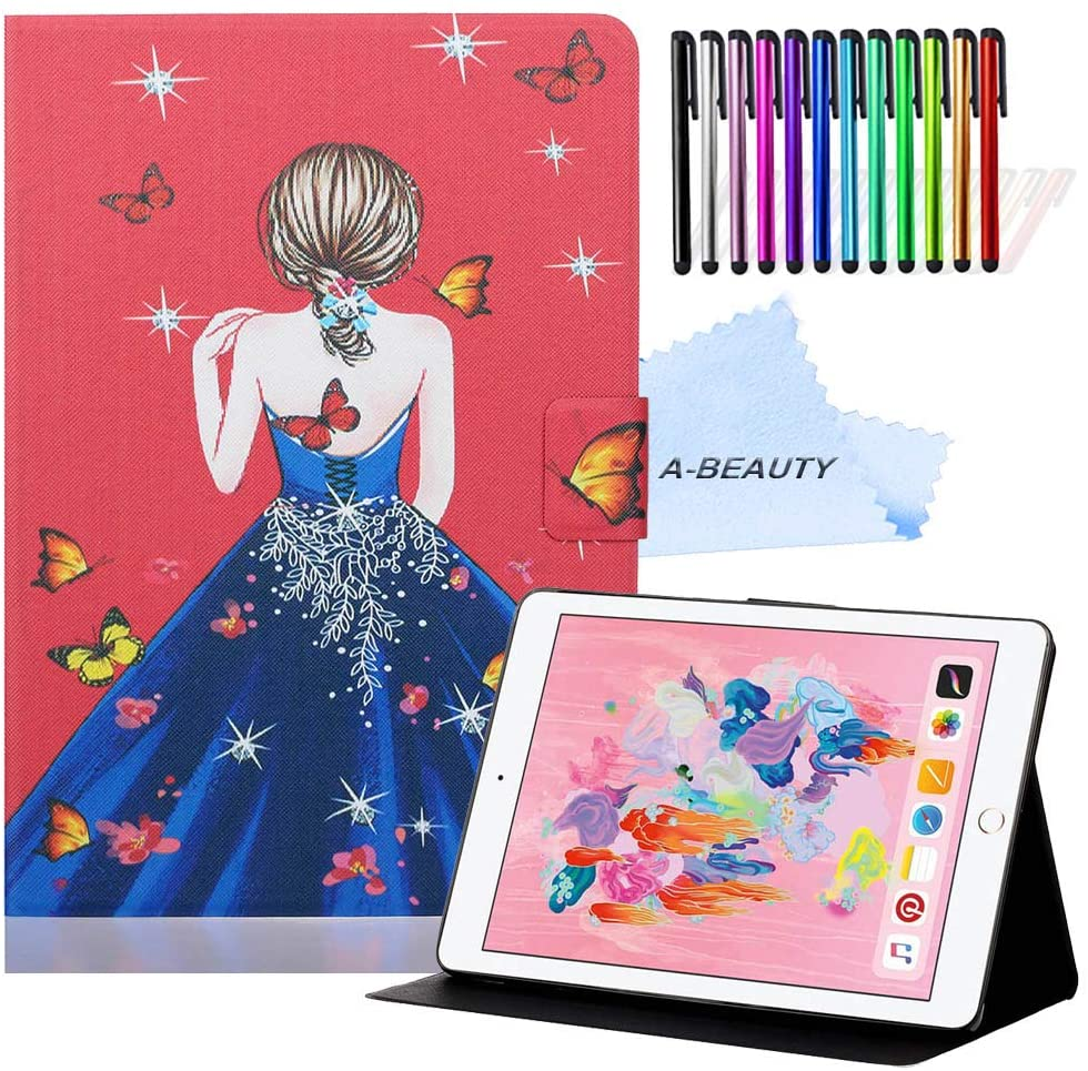 A-BEAUTY iPad 10.2 Case, Stand Case for iPad 7th Generation 10.2