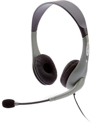 Cyber Acoustics AC-851B USB Stereo Headset. OEM SLVR USB STEREO HEADST MICRO DIRECT NOISE CANCELING HEADST. Over-the-head