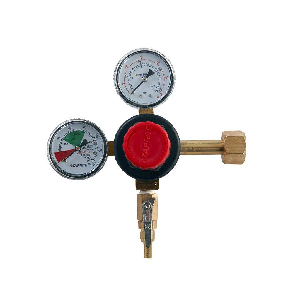 Taprite 12218 1 X co2 Dual Gauge Regulator