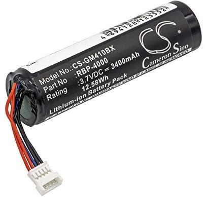 3400mAh Replacement for Datalogic GBT4400, GBT4430, GM4100 Battery, P/N RBP-4000