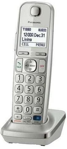 Panasonic KX-TGEA20S Extra handset for TGE210/230/240/260/270 series Easy to Use