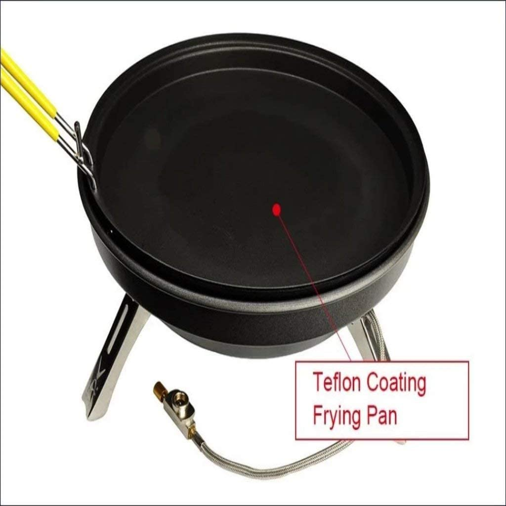 Trending Travis Picnic Outdoor Multifunctional Gas Stove Large Power