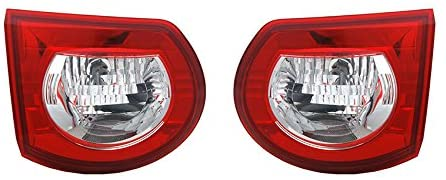 Rareelectrical NEW PAIR OF TAIL LIGHTS COMPATIBLE WITH CHEVROLET TRAVERSE BASE 2009-12 25952323 GM2883111 25952322 GM2882111