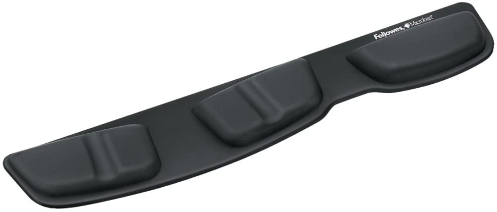 FEL9182501 - Fellowes Keyboard Palm Support with Microban Protection