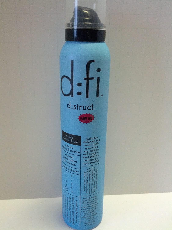 D:FI Destruct Volume Boosting Foam, 6.76 Fluid Ounce