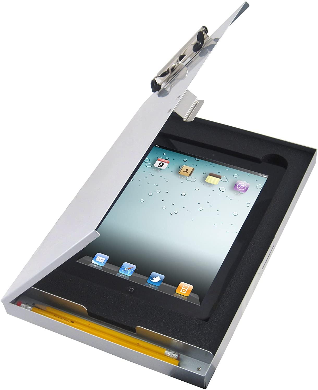Saunders Tuff Writer for iPad Air, Silver Alum (45451)