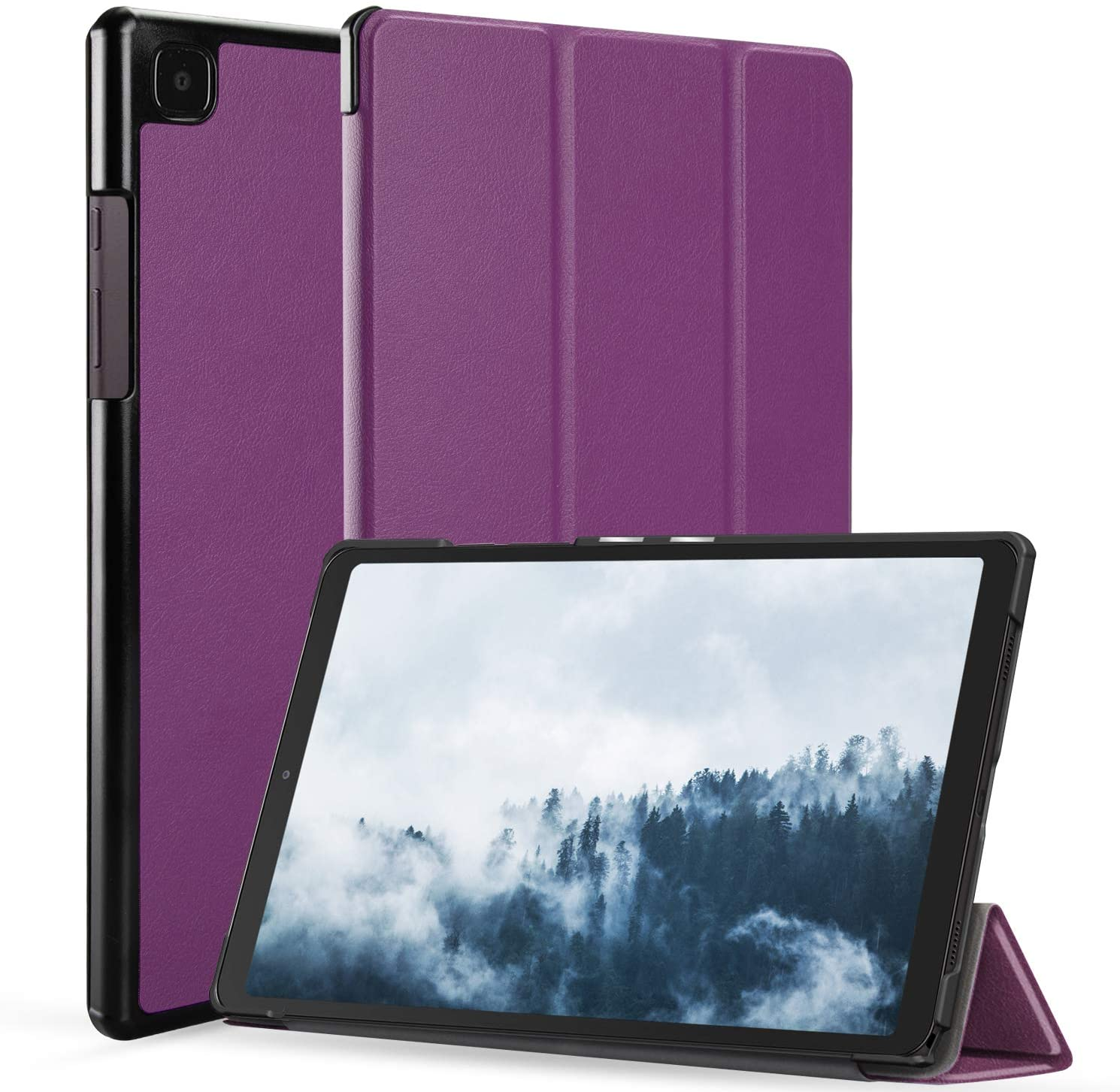 Neepanda Case for Samsung Galaxy Tab A7 10.4 Inch 2020, Slim Tri-Fold Shell Case Cover for Samsung Galaxy Tab A7 10.4 Inch Model SM-T500/T505/T507 2020 Release, [Auto Wake/Sleep] - Purple
