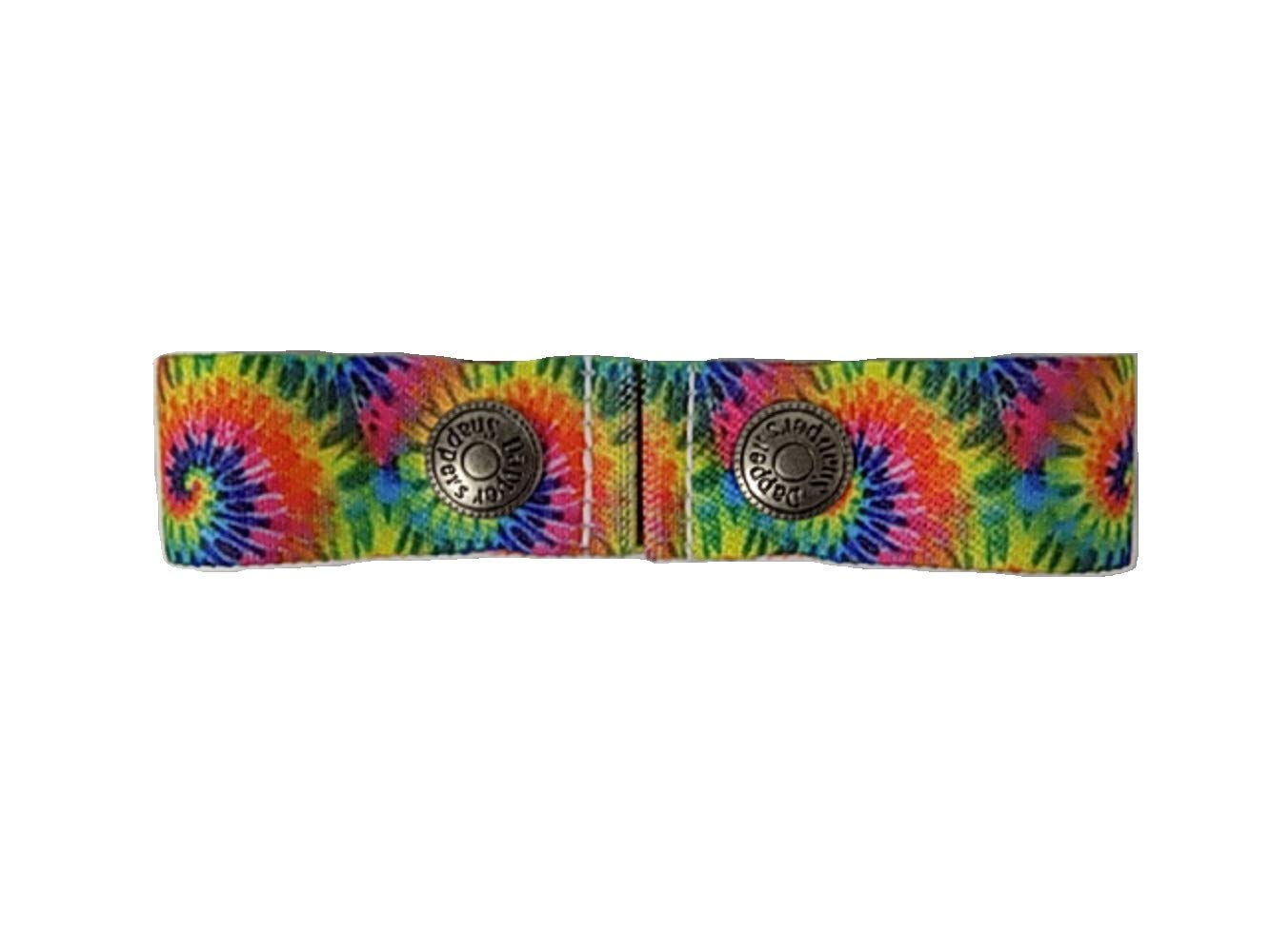 Dapper Snapper Made in The USA Baby & Toddler Adjustable Belt-Tie Dyed
