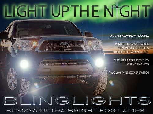 Bumper Fog Lamps Driving Lights Kit for 2012 2013 2014 2015 Tacoma