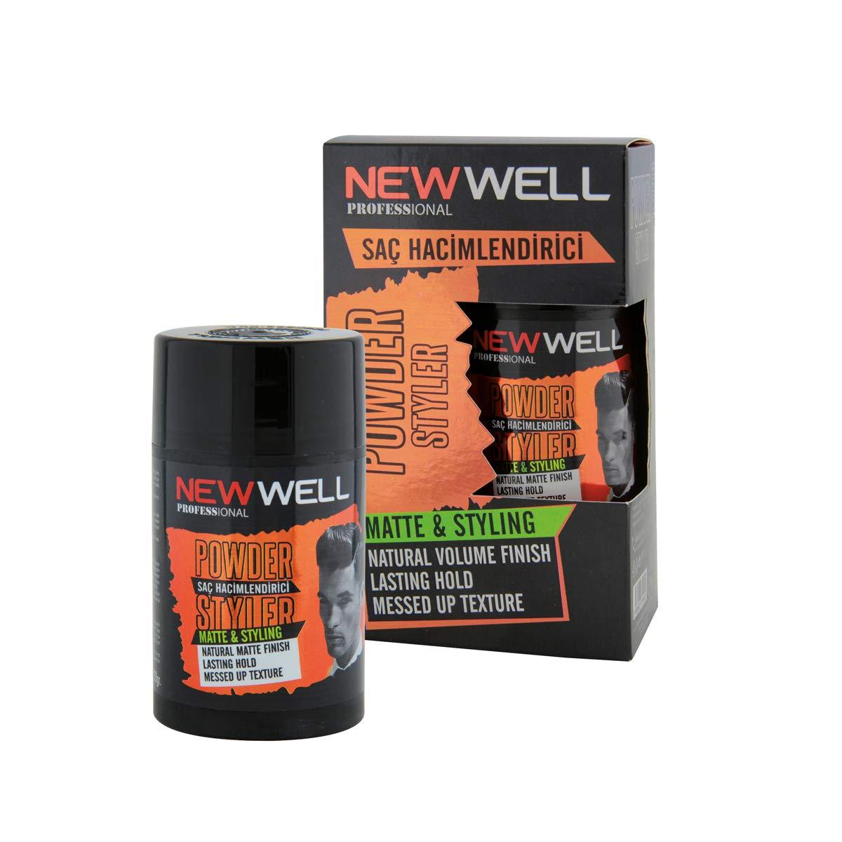 New Well Hair Volumizer Powder Styler Matte - Natural Volume Finish - Styling