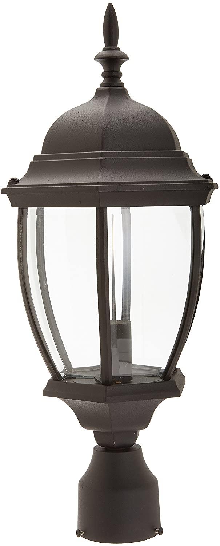 Designers Fountain 2436-BK Tiverton Post Lanterns, Black