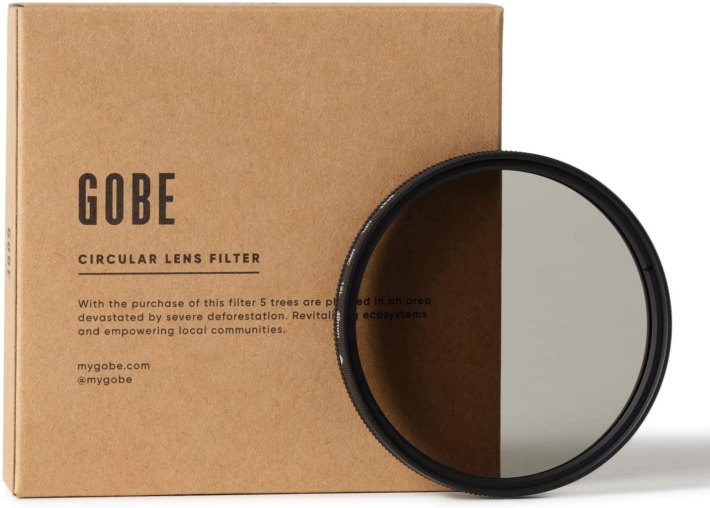 Gobe 49mm Circular Polarizing (CPL) Lens Filter (1Peak)