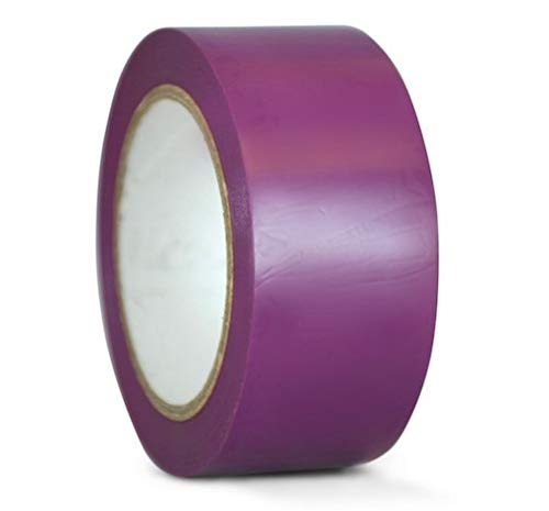 Harris Industries, Inc. VM126-PU 4in x 180ft Purple Vinyl Plastic Tape