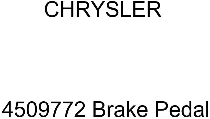 Chrysler Genuine 4509772 Brake Pedal