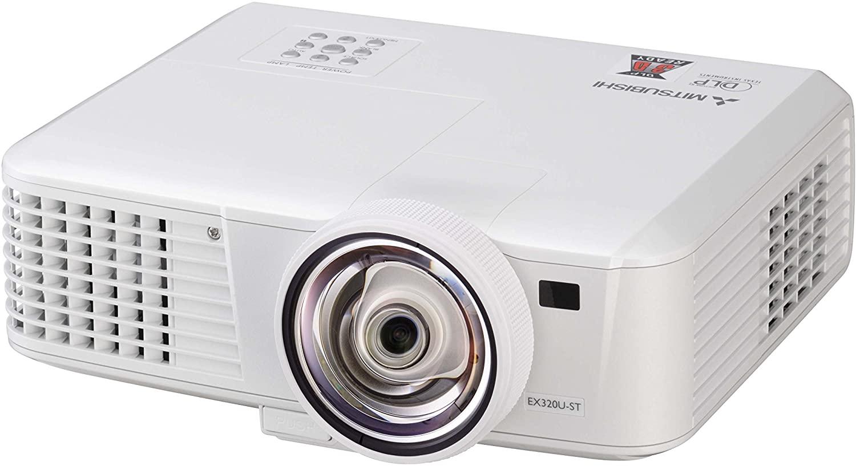 Mitsubishi EW331U-ST 3000 Lumens 3D WXGA DLP Projector
