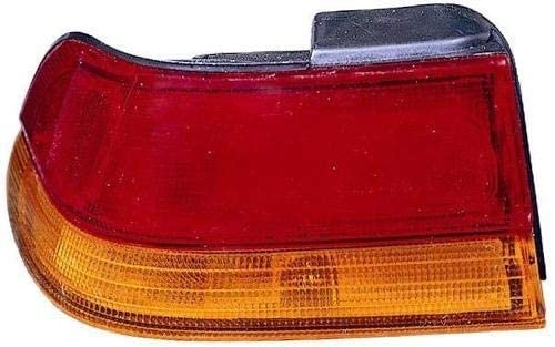 Go-Parts - for 1995 - 1999 Subaru Legacy Rear Tail Light Lamp Assembly / Lens / Cover - Left (Driver) Side - (4 Door; Sedan) 84201AC030 SU2800104 Replacement 1996 1997 1998