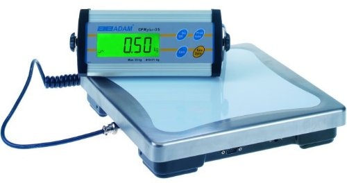 Adam Equipment CPWplus 6 Platform Weighing Scale, 13lb/6000g Capacity, 0.005lb/2g Readability