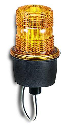 Federal Signal Low Profile Warning Light, Strobe, Amber