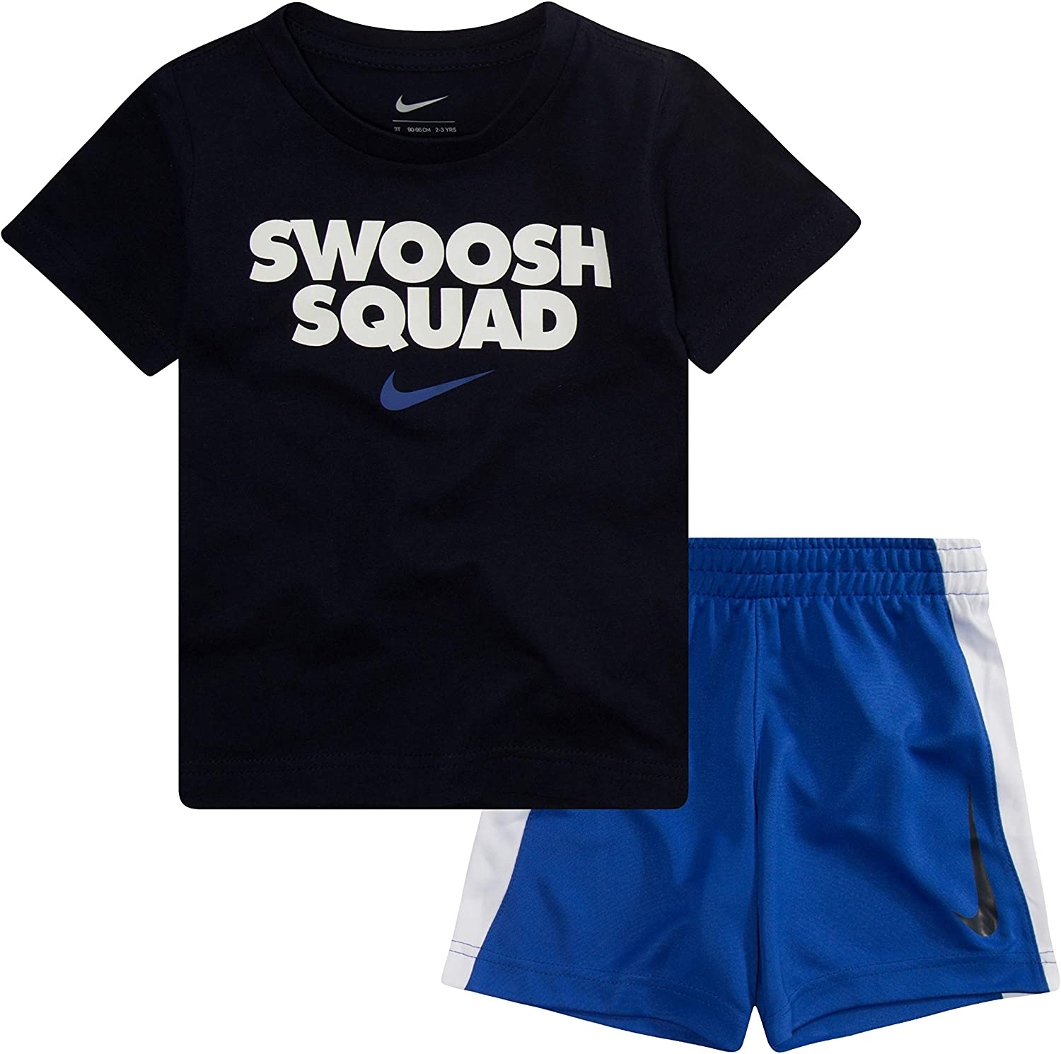 Nike Baby Boys' Graphic T-Shirt and Shorts 2-Piece Outfit Set