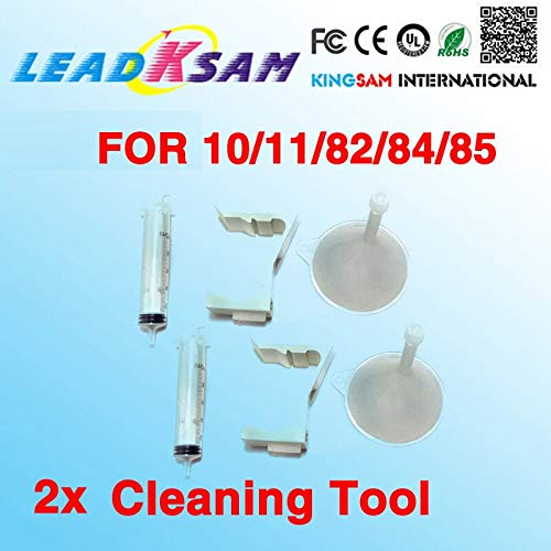 Yoton 2X Leadksam Printhead Cleaner Kits Compatible for HP11 HP84 85 Print Head Cleaning Tools for Designjet 500 800 510 130 815
