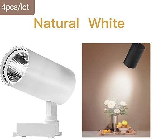 AC165-220V COB Led Track Light 30W Led Spot Light Lamp Aluminum Rail Track Lighting for Kitchen Shop Living Room,F