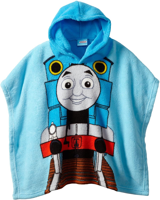 AME Sleepwear Little Boys' Thomas Hooded Poncho
