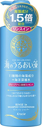 Kracie(Kanebo Home Products) Umino Uruoi So 2-in-1 Shampoo + Conditioner 520ml