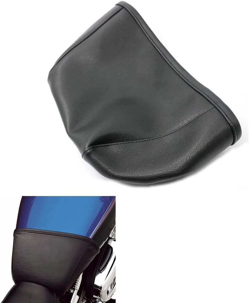 Alpha Rider Black 4.5 Gallon Vinyl Fuel Tank Bra Shield Sheet Cover Protector For Harley Sportster 1200 Roadster XL1200R 2008 | Sportster 1200 Low XL1200L 06-11 | Sportster 1200 Custom XL1200C 04-17