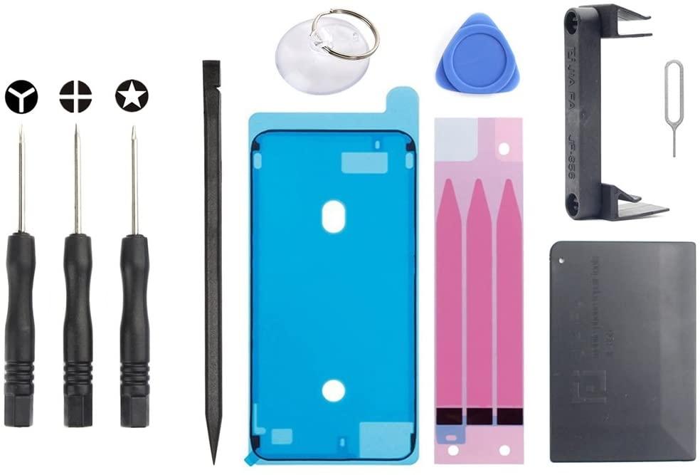 Linmatealliance Repair Tool Kit Kit JIAFA JF-8160 11 in 1 Battery Repair Tool Set for iPhone 6s Plus