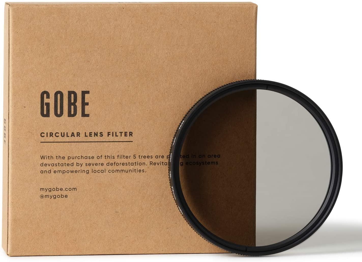 Gobe 77mm Circular Polarizing (CPL) Lens Filter (3Peak)