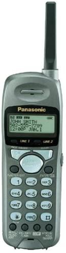 Panasonic KXTGA200B 2.4 GHz DSS Accessory Handset for KXTG2000B (Black)