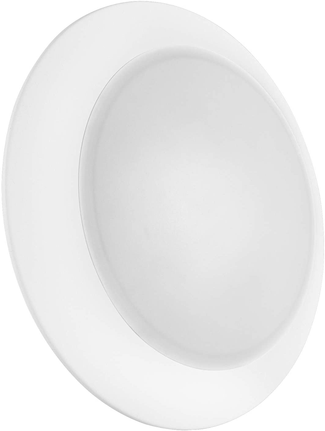 Luxrite 8 Inch LED Disk Light, 27W, 5000K Bright White, 2000 Lumens, Dimmable, Surface Mount LED Ceiling Light, Wet Rated, Energy Star, ETL Listed, Low Profile Flush Mount Light Fixture