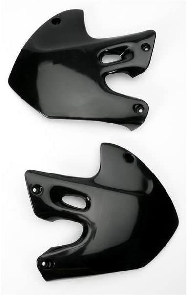 UFO Plastics RAD SHR BK RM1/2 00 Body Plastics Radiator Covers BLK RM125/250 99 - SU03903-001