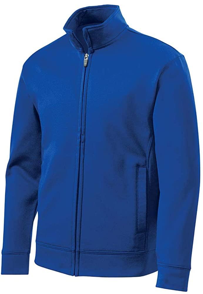DRIEQUIP Youth Moisture Wicking Fleece Full-Zip Jacket in Sizes XS-XL
