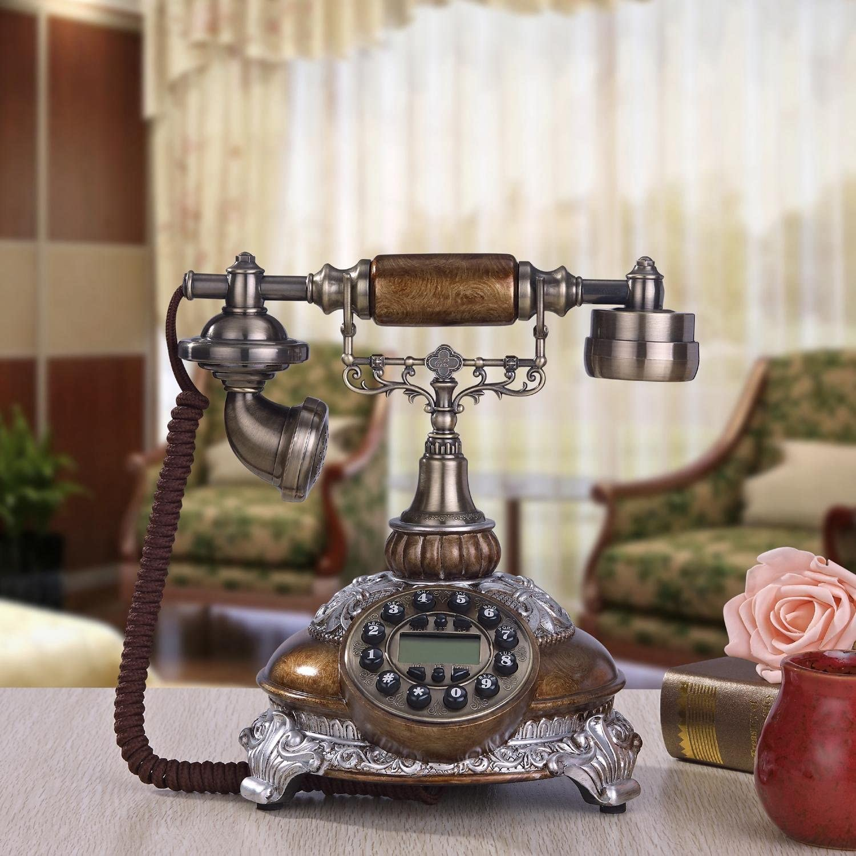 TY Retro European-style living room / bedroom / office dedicated corded telephone / creative high-end landline phone , c
