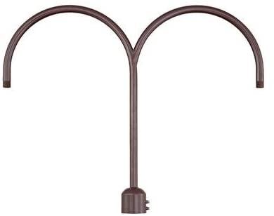 Millennium RPAD-ABR Two Light Post Adapter, Bronze/Dark