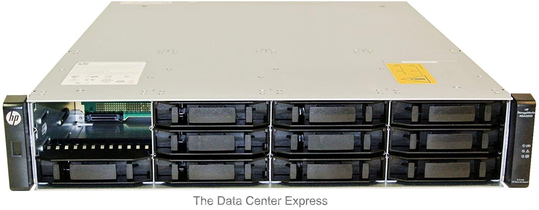 HP MSA2012 12x LFF 3.5