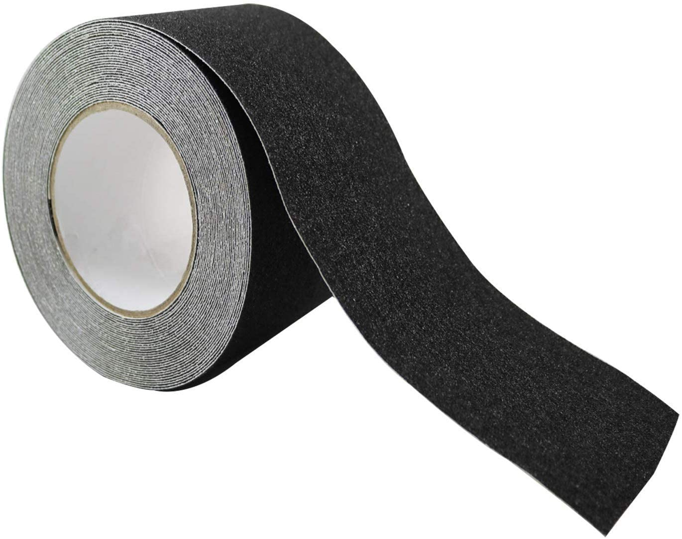 Roar Black Anti Slip Traction Tape 4Inch x 33 Foot, Durable Grip Grit, Non Slip, Abrasive Adhesive for Stairs, Indoor Outdoor Use for Stairs, Kid Safety, Slip Ground