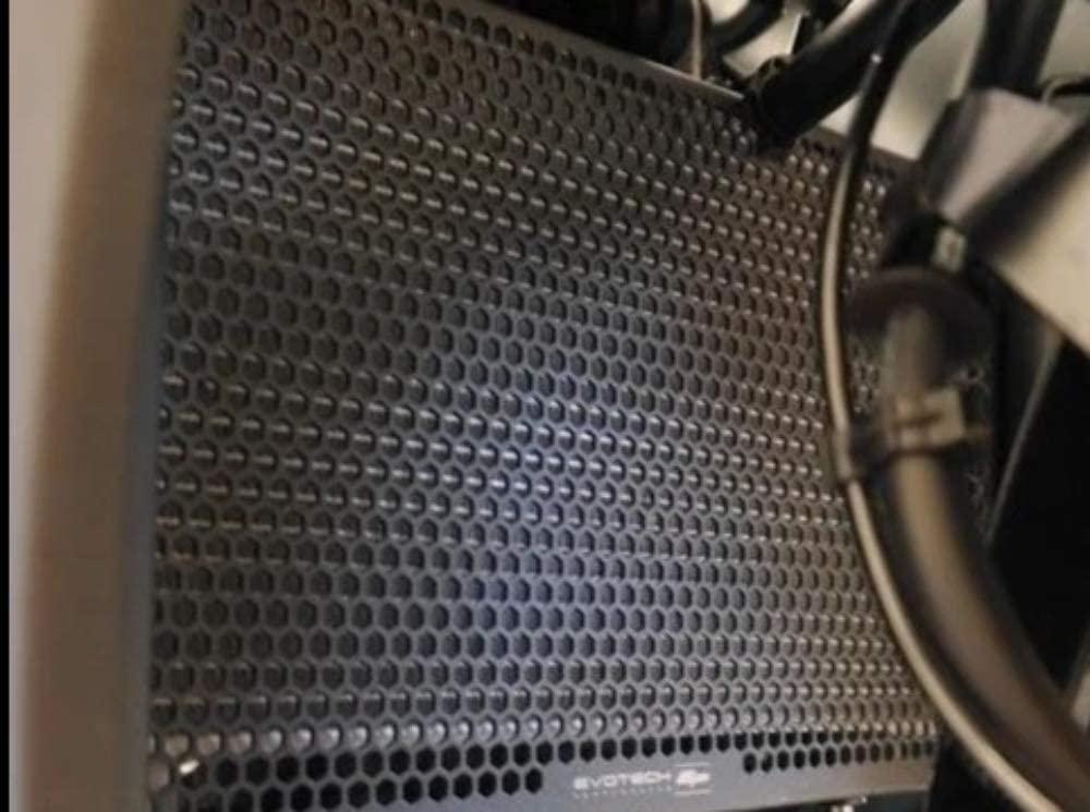 Evotech Performance Radiator Guard Kit to fit Yamaha YZF-R3. Years 2015 to 2019. PRN012649