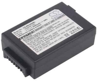 Battery Pack 1050494-002 Replacement for TEKLOGIX 7525 7525C 7527 WorkAbout Pro 2000mAh