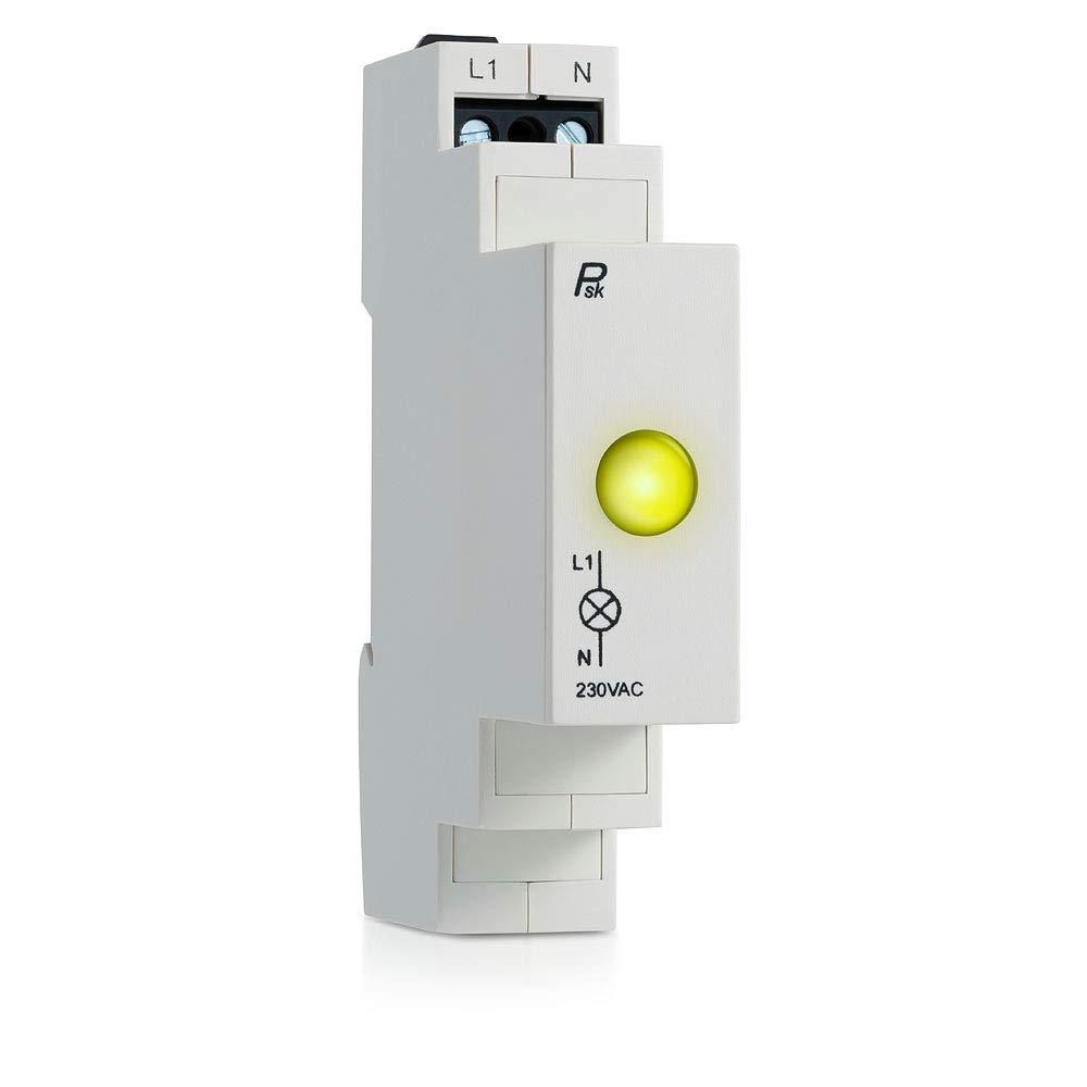 P.S.K L1 LED Modular Power Signal Indicator Light Lamp Yellow