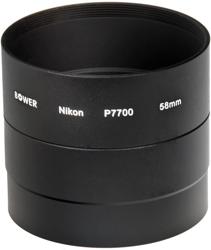 Bower ANP7700 Nikon Coolpix P7700 58 mm Adapter Tube (Black)