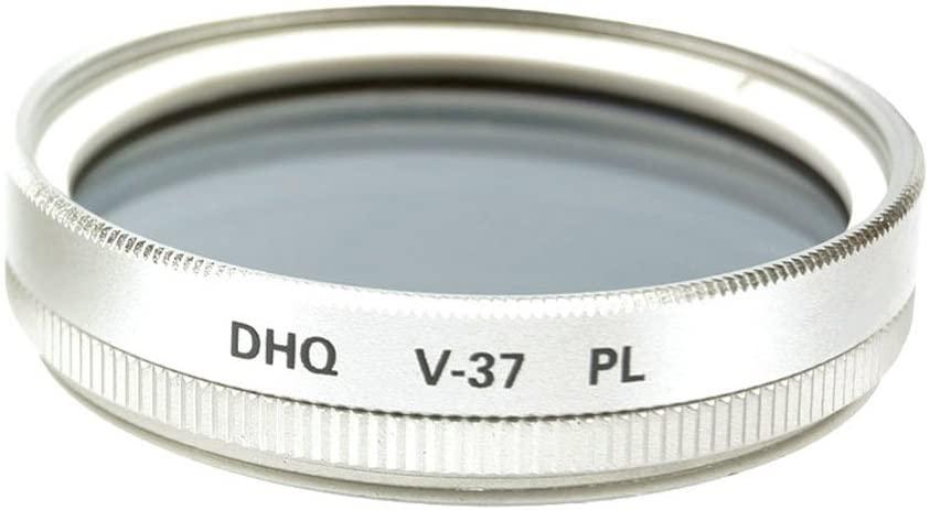 Fujiyama Silver 37mm Polarizing Filter for Olympus M.Zuiko Digital 17mm 1:2.8 Pancake Made in Japan