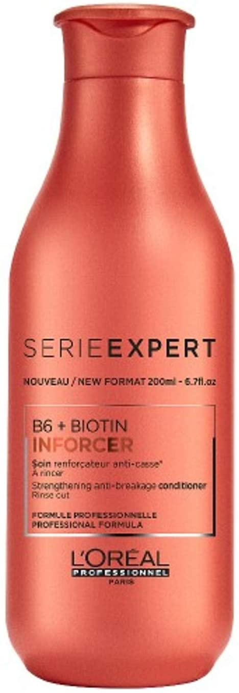 L'Oreal Professionnel Serie Expert - Inforcer B6 + Biotin Strengthening Anti-Breakage Conditioner 200ml/6.7oz