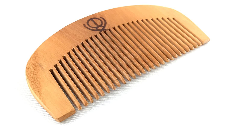 M'VIR Wooden Comb Sikh Kangha/Kanga 5K's of Sikhism