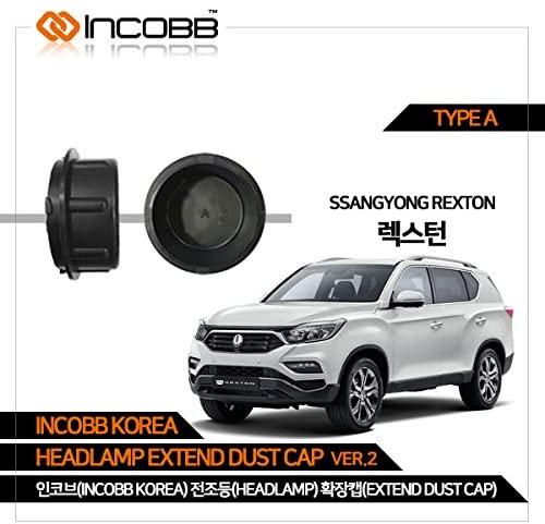 INCOBB KOREA SSANGYONG REXTON HEADLAMP EXTEND DUST CAP VER.2 TYPE A