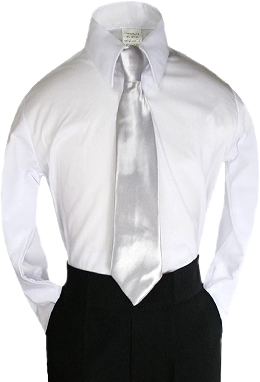 Unotux Color Satin Zipper Necktie from Baby to Teen